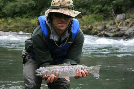 Dave Fish Alaska: Alaska Rainbow Trout