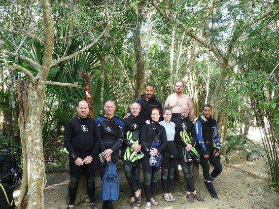 Deep Life Divers: our amazing dive team with Eduardo and Daniel