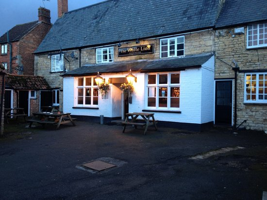 The White Lion: Front