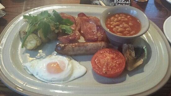 The Tempest Arms: Gorgeous breakfast
