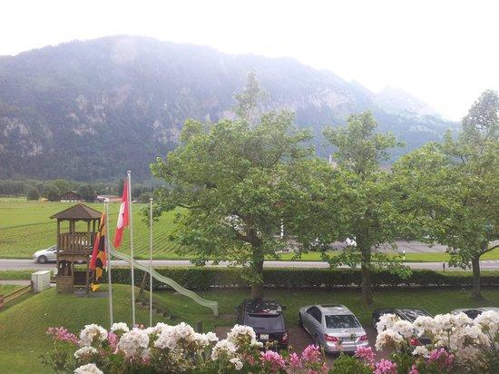 Landhotel Golf: Meravigliosa vista dalla camera