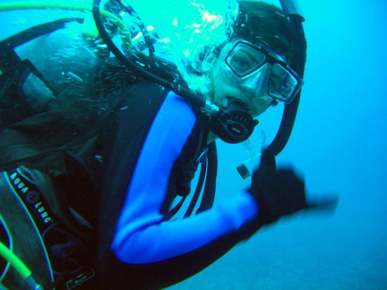 Jupiter Scuba Diving: I was without a dive buddy one day and Capt. Cole, dove with me as my buddy!