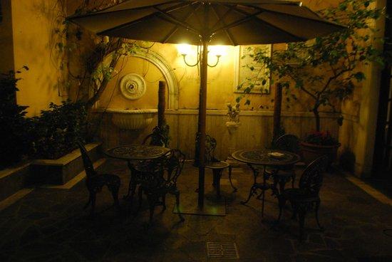 Villa San Lorenzo Maria Hotel: la terrasse de l'hotel