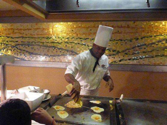 The Reserve at Paradisus Punta Cana: Buffet breakfast