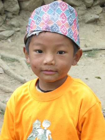 Summit River Lodge at Brigand's Bend : Boy from Local Village.....