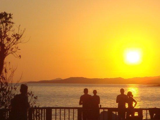 Media Luna Resort & Spa: the sunset was beautiful