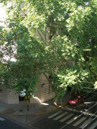 Épico Recoleta Hotel: Região muito arborizada.