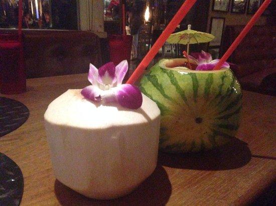 Paradise Cove Beach Cafe: Drinks
