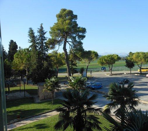Hotel San Claudio: Vista dalla nostra stanza