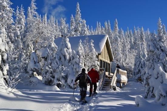 Parc national des Monts-Valin : Refuge Le Fantôme