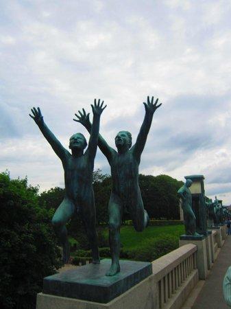 Vigeland Museum : Столько эмоций и движения!