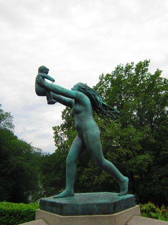 Vigeland Museum : Самая любимая скульптура