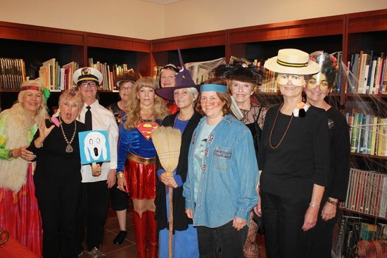 Tubac Center of the Arts: Volunteers on Halloween - October 2013