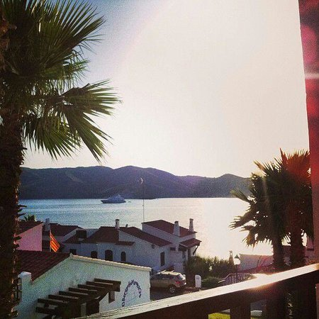 El Bergantin Menorca Club: Vistas desde la terraza