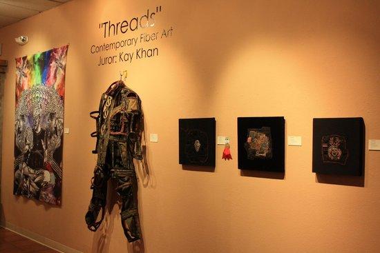 "Tubac Center of the Arts: ""Threads"" fiber art exhibit - October 2013"