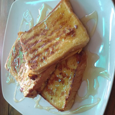 Eing Restaurant : French toast with honey