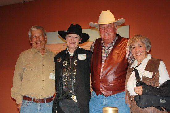 Tubac Center of the Arts : Best Western Dress contest - annual meeting, Oct. 2013