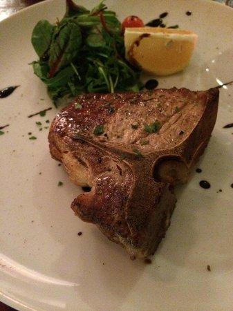 Trabuxu Bistro: Veal T-Bone