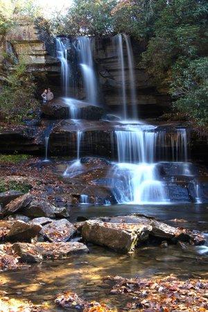 Miller's Land of Waterfall Tours: Breathtaking waterfall visited while on Miller's Land of Waterfall Tour.