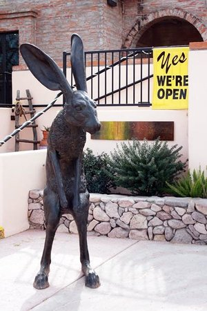 "Tubac Center of the Arts : ""Tubac Jack"" sculpture by Nicholas Wilson, acquired Dec. 2013"
