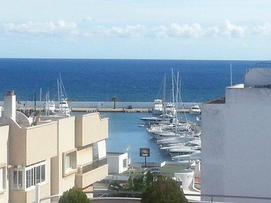 Duquesa Playa: Aussicht von der Dachterrasse