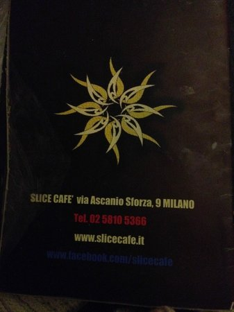 Slice Cafe: Menu last