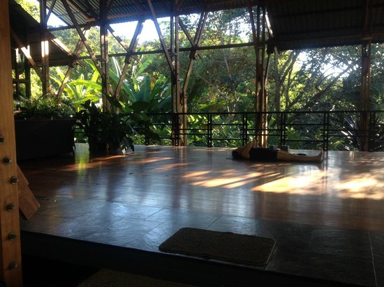The Sanctuary at Two Rivers: yoga pagoda