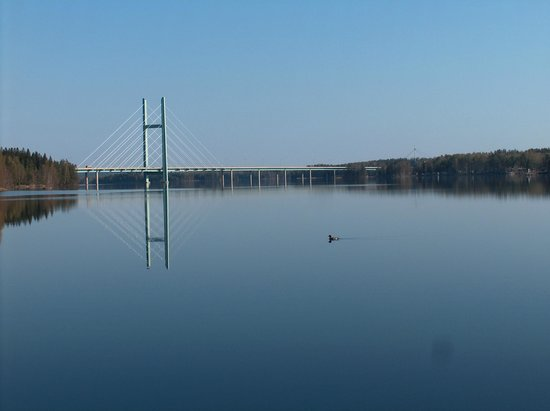 Heinola motorway bridge