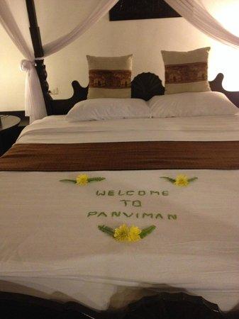 Santhiya Tree Koh Chang Resort: Приветствие в день заселения