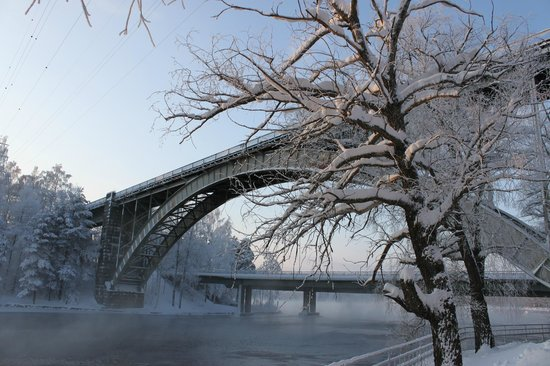 Heinola, Finlandia: Railway bridge
