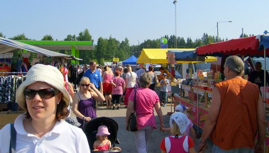 Heinola, Finland: Market