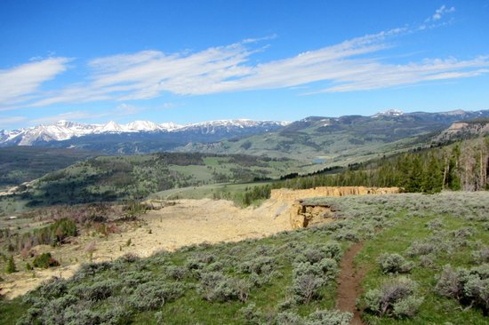 320 Guest Ranch : View from half-day trail ride