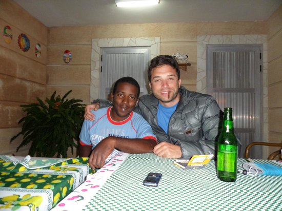 "Hostal ""El Villareno"": me with Victor"
