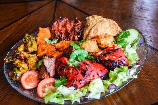 Restaurante Sarita: Saritas Mixed starter platter