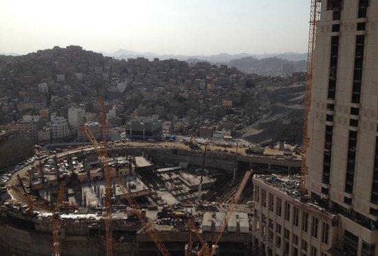 Makkah Hilton Hotel: City view