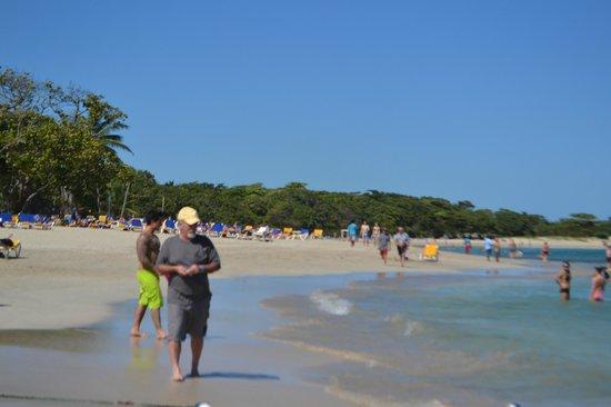 Iberostar Costa Dorada: Beautiful beach