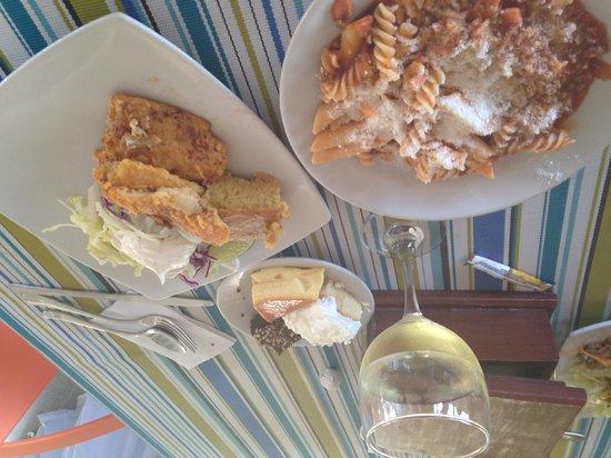Sol Caribe Campo: Algo del almuerzo