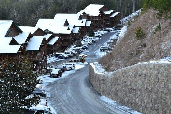 Westgate Smoky Mountain Resort & Spa : lindo luego de nevar