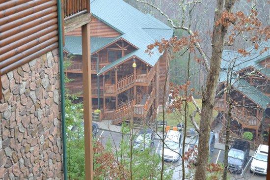 Westgate Smoky Mountain Resort & Spa: la vista de mi ventana