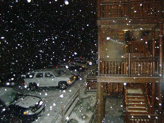 Westgate Smoky Mountain Resort & Spa: cuando cayo nieve