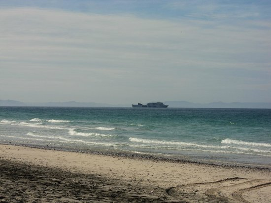 Playa El Tecolote (Tecolote Beach) : Ferry to Maz