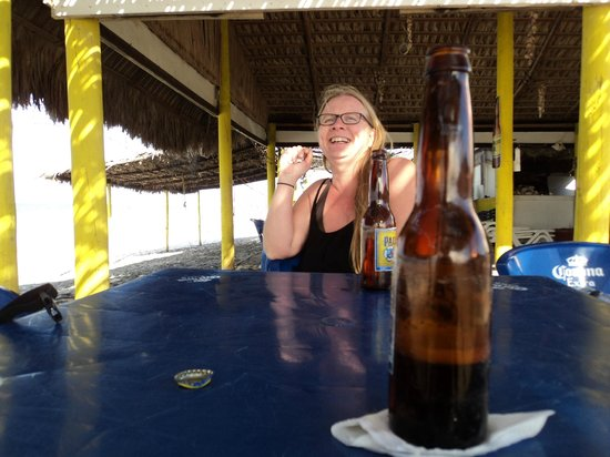 Playa El Tecolote (Tecolote Beach): Beer