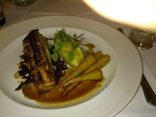 Palm Court Hotel: Tasty beautifully presented