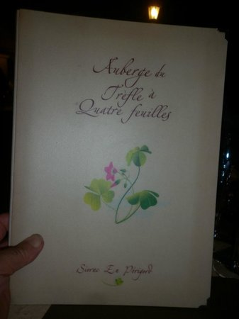 Le Trefle A Quatre Feuilles: carte