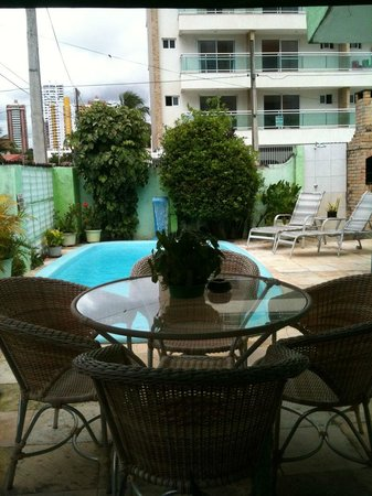 Hostel Verdes Mares : Piscina / Home Office