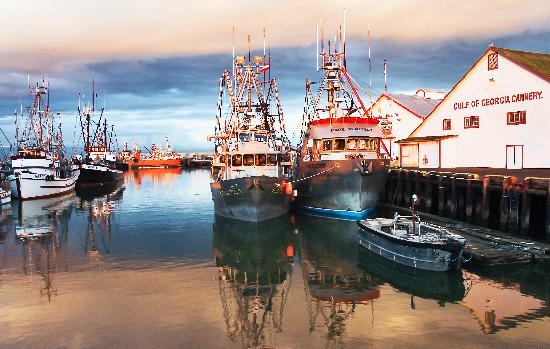 Visit the Historic Steveston Village