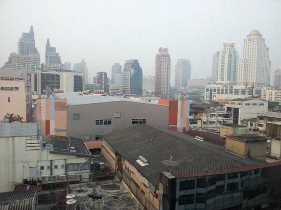 Bangkok Palace Hotel : Вид с 10 этажа