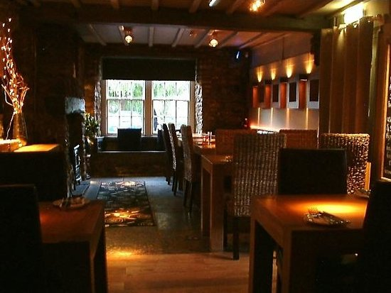 The George at Nunney: Dining area