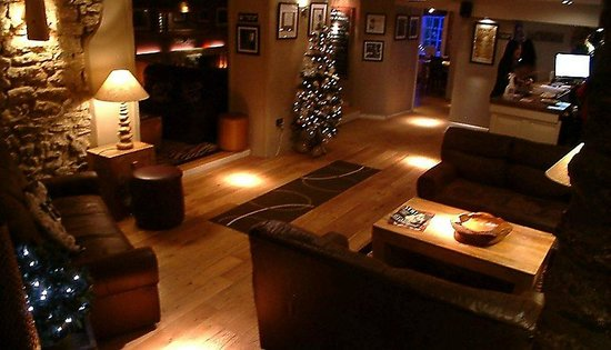 The George at Nunney: Our lounge