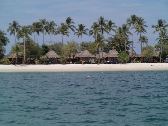 Koh Mook Sivalai Beach Resort : The side to stay on